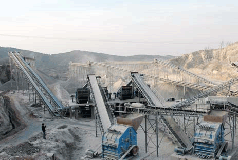 Limestone production line